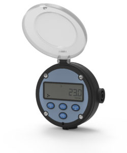 FLOMEC DIGITAL RATE TOTALISER, METER MOUNT, GRN HOUSING