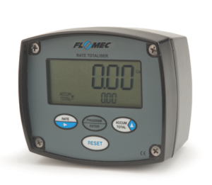 FLOMEC RATE TOTALISER AND FACIA PROTECTOR, ALI HOUSING, FIELD MOUNT