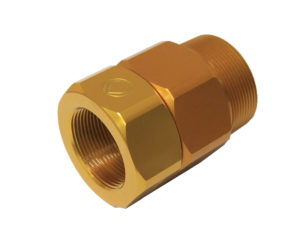 Banlaw Swivel 2″ NPT (Male) x 1-1/2″ NPT (Female) Anodised Aluminium