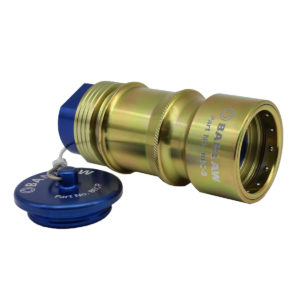 "Banlaw Flush Face BPL Evacuation Coupling B 1″ NPT (without twist Function) – Suits All BPLR**E Receivers ""common"""