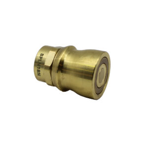 Banlaw Flush Face BPL Nozzle, 3/4″ NPT, BRASS Coloured