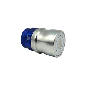 Banlaw Flush Face BPL Nozzle, 1-1/4″ NPT, BLUE Coloured