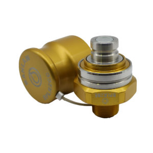 Banlaw Flush Face BPL Receiver, 3/4″ NPT, GOLD Coloured