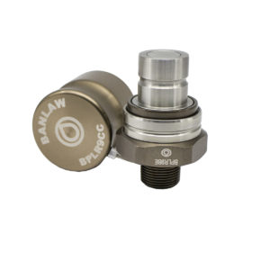 Banlaw Flush Face BPL Receiver, 3/4″ NPT, BRONZE Coloured
