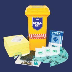 Hazchem Spill Kit (120L bin)