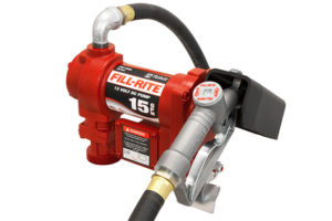 12 Volt DC Pump with Hose and Manual Nozzle