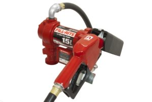 12 Volt DC Pump with Hose and Automatic Nozzle