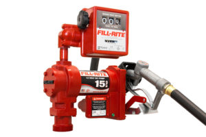 12 Volt DC Pump with Hose, Nozzle and Litre Meter