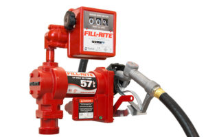 24 Volt DC Pump with Hose, Manual Nozzle and Liter Meter