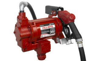 240 Volt AC Hi-Flow Pump with Hose and Auto Nozzle