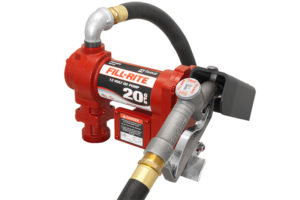 12 Volt DC High Flow Pump with Hose and Manual Nozzle