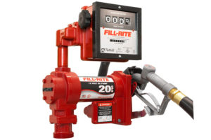 12 Volt DC High Flow Pump with Hose, Manual Nozzle and Liter Meter