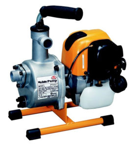 "1"" Self-priming 1.1hp EH025, r/start, 35m max head, 130L/min max, 6kg"