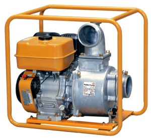 "4"" Centrifugal, 9hp EX27DD, r/start, 28m max head, 1800L/min max, 44.5kg"